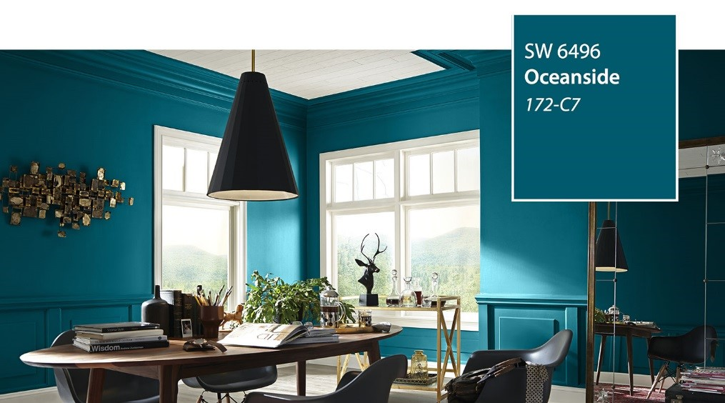 Into The Deep Blue Hue Deciphering Sherwin Williams